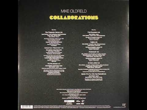 "MIKE OLDFIELD - Boxed - 4th LP ""Collaborations"" (1976)"