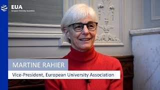 Martine Rahier, Vice-President of the EUA – Women in Higher Education thumbnail