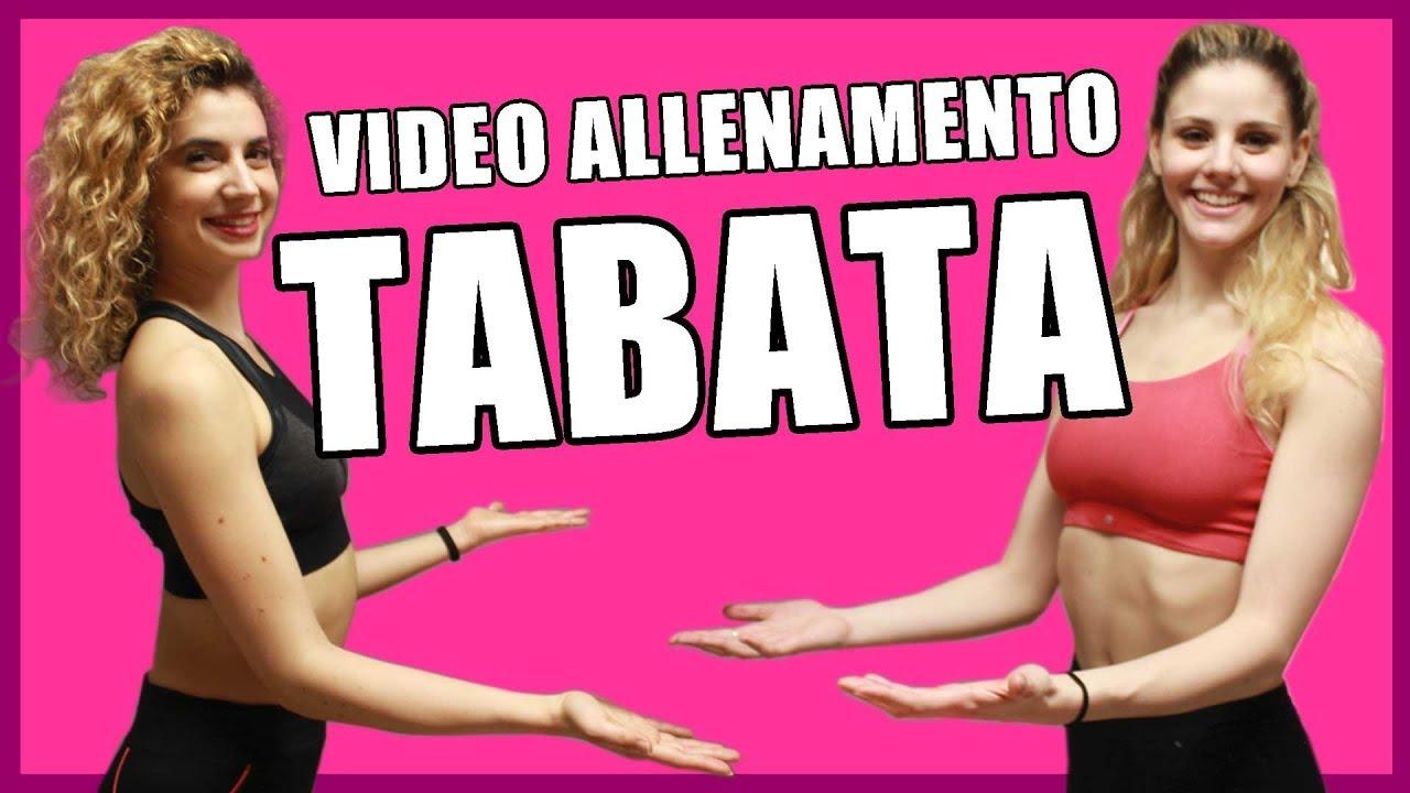 Tabata: allenamento funzionale brucia grassi per dimagrire e tonificare a alta intensità in italiano
