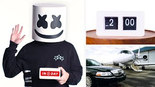 Everything Marshmello Does In a Day On Tour | Vanity Fair