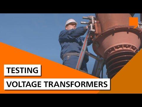Testing voltage transformers