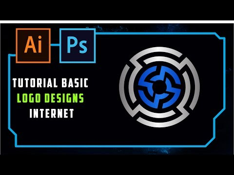 ADOBE ILLUSTRATOR - TUTORIAL LOGO DESIGN - INDONESIA EPS 4 LOGO INTERNET