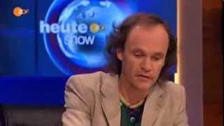 "Olaf Schubert-""Experte"" - Angelika Merkel ein Diktator ?- Teil 2 heute show"" 27.09.2013"
