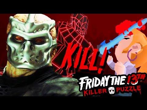 UBER JASON GETS REVENGE | Friday the 13th: Killer Puzzle