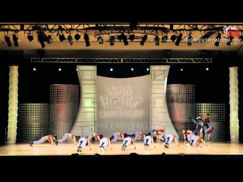 UP StreetDance Club (Philippines) at World Championship Finals 2012 (Megacrew)