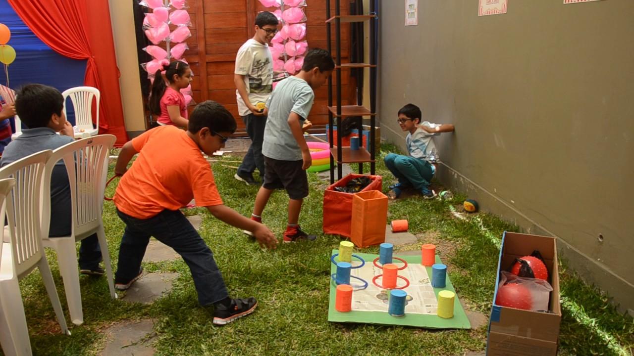 Juegos Muy Divertidos Para Fiestas Infantiles Youtube