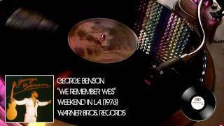 George Benson - We Remember Wes (HD)