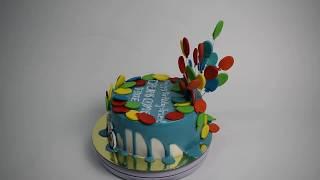 Торт на заказ Воздушные шарики (Tortlend.ru)