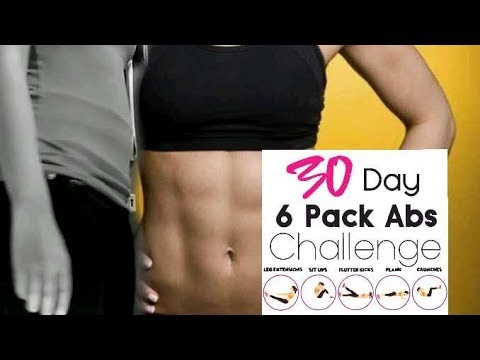Lose fast belly fat in 30 days at home in hindi | 30 DAY ABS WORKOUT CHALLENGE