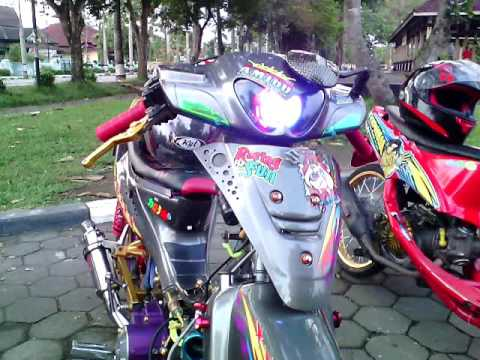 Modifikasi Shogun 110 ( Modifikasi Paling Gila ) Modifikasi Shogun R 110 Street Racing Thailook