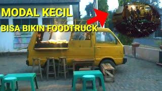 Carry 1000 Modif Foodtruck Konsep Sederhana Bikin Foodtruck Youtube