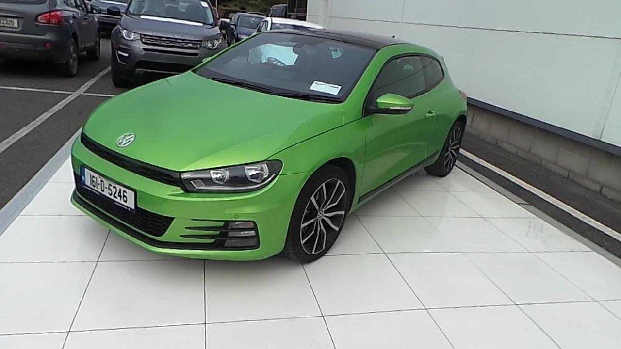 161D5246  2016 Volkswagen Scirocco Sport 14 TSI M6F 125HP 28450