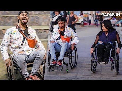 Retos extremos en silla de ruedas   Malcriado VS Edna