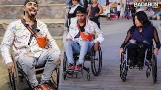 Retos extremos en silla de ruedas | Malcriado VS Edna
