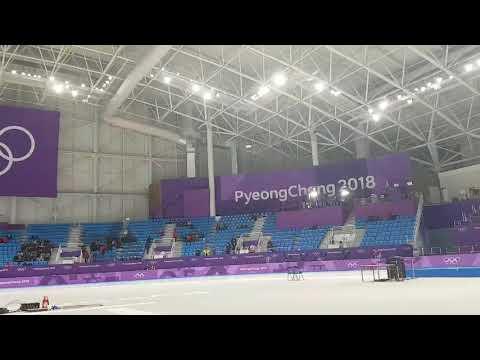 [Winter Olympics 2018]EXO Boomerang played at the skating venue