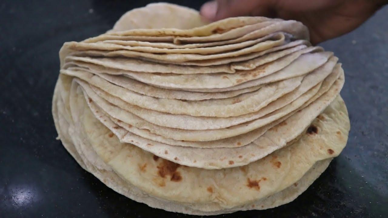 10 நிமிடத்தில் பஞ்சு போன்ற சப்பாத்தி //Soft & perfect Chapathi  Recipe in Tamil.
