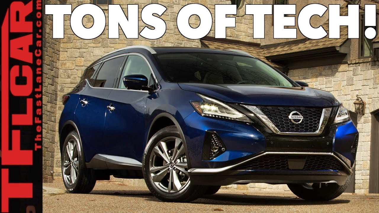 2019 Nissan Murano New Lookore Tech Safety Than Ever