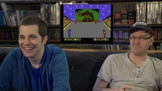Double Dare (NES Video Game) James & Mike