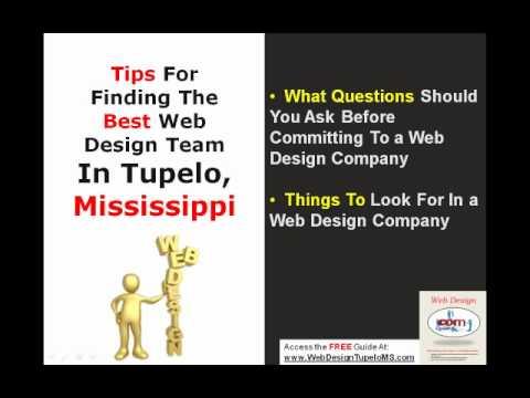 Web Design Tupelo MS - Choosing the Best Web Designer