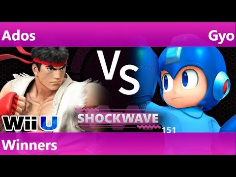 SW 151 - Ados (Ryu) vs SWG | Gyo (Mega Man) Winners - Smash 4