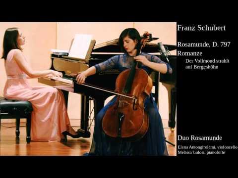 Duo Rosamunde: F. Schubert, Romanze aus Rosamunde D. 797