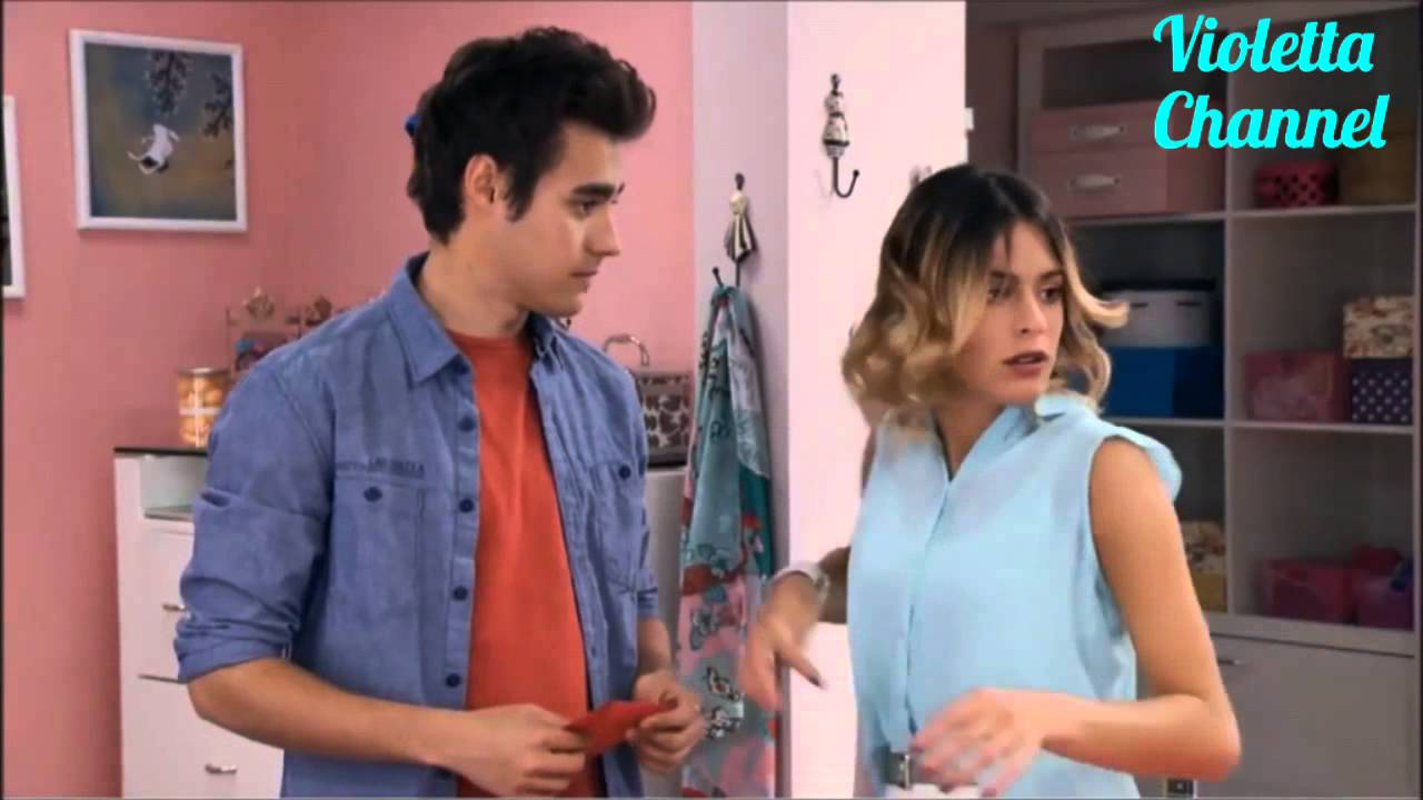 Download Violetta 3 English - Vilu And Leon Find Out That Priscilla Pushed Vilu Down The Stairs Ep.68