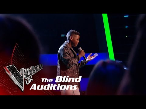 Donel Performs Cold Water: Blind Auditions  The Voice UK 2018