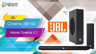 JBL Cinema SB150 | Home Cinema 2.1 soundbar with wireless subwoofer | Bangladesh