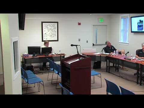 August 22, 2017 - Rising Sun, MD - Board of Commissioners Meeting