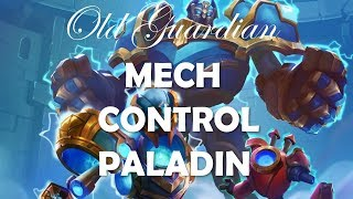 How to play Mech Control Paladin (Hearthstone Boomsday post-nerfs deck guide)