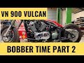 Bobber VN900 Vulcan the tear down