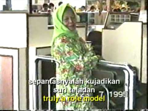 Nyanyian Rindu Buat Ibu With Lyrics & English Subtitles