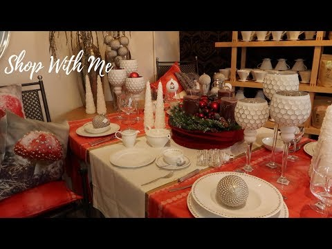 Shop With  Me || Tableware