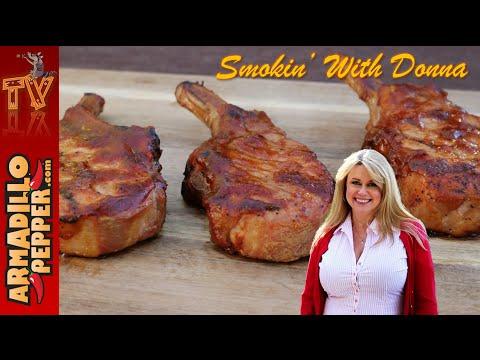 Smoked Apple-Bourbon Pork Chops | Masterbuilt Smoker