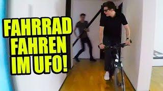 LONGBOARD & FAHRRAD FAHREN IM UFO