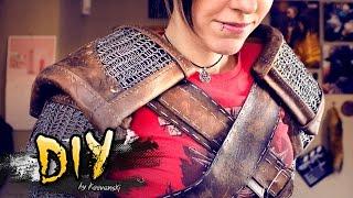 Hombreras con Goma Eva | The Withcer 3 Geralt de Rivia Cosplay Tutorial