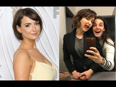 Milana Vayntrub AT&T Girl Best Funny at Behind the