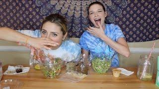 CHOP STOP MUKBANG (Healthy Salads)