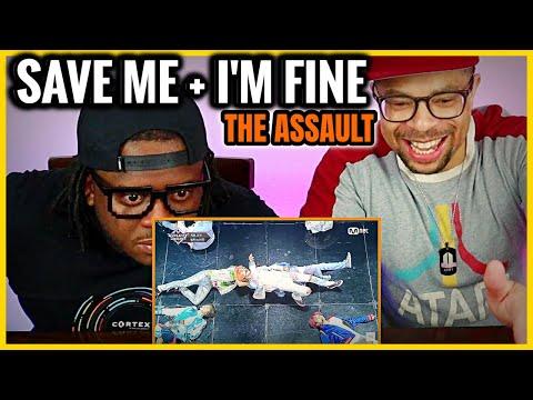 I Feel Assaulted 😱  BTS - Save Me + I'm Fine REACTION