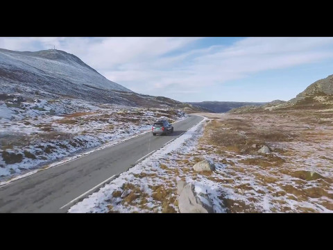 Norwegian Mountain roads in 4K | Above Media