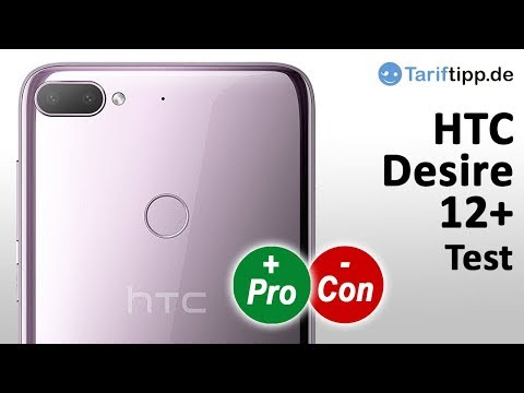 HTC Desire 12+   Test deutsch