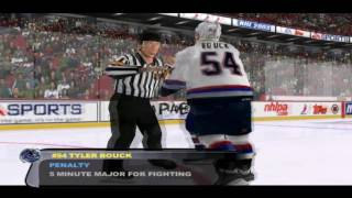NHL 2003: Oilers vs Canucks