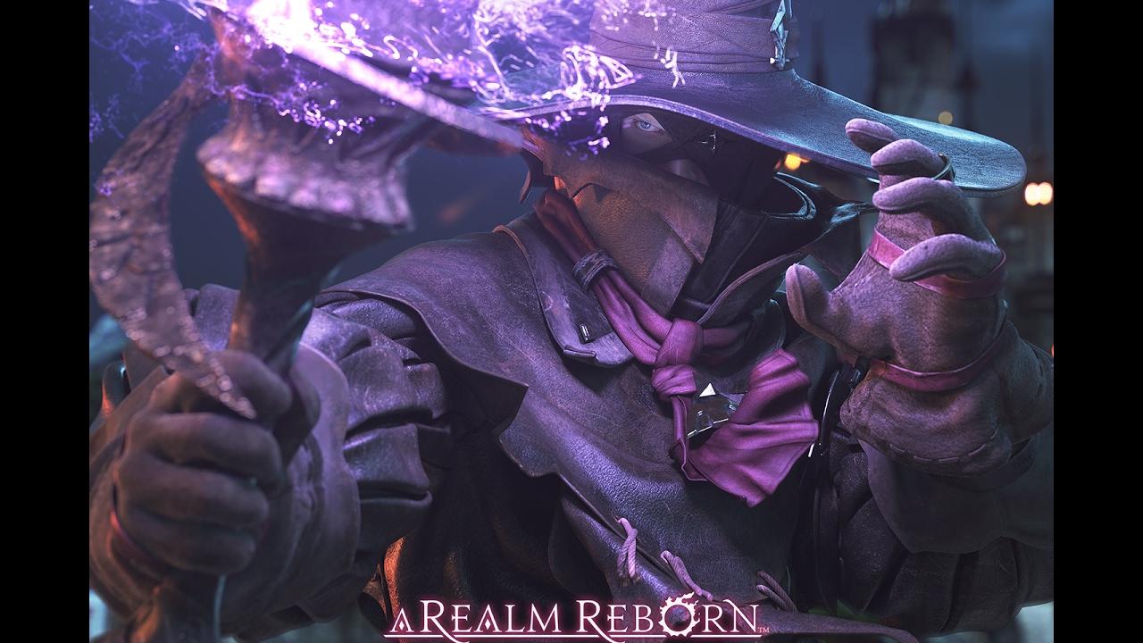 Final Fantasy XIV Online The Black Mage Skill Showoff PT
