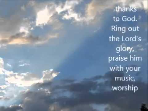 Sing Of The Lord's Goodness Hymn Lyrics | Believers Portal
