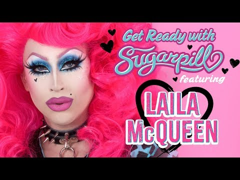 GET READY WITH SUGARPILL ❤ MAKEUP TUTORIAL ft LAILA McQUEEN