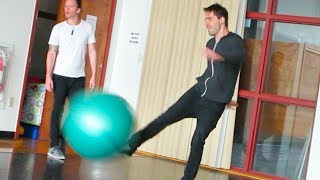 DODGE BALL DISASTER! (4.25.14 - Day 1821)