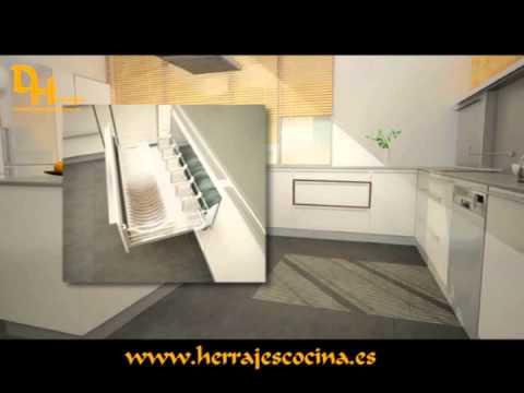 Dherrajes herrajes y accesorios de cocina youtube - Accesorios para cocina ...