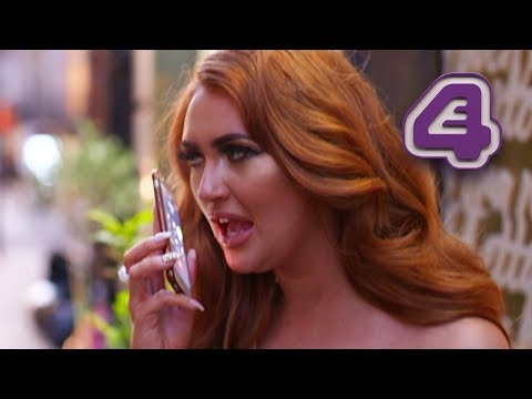Charlotte Dawson Furious At Calum Best For Not Turning Up To Double Date!  Celebs Go Dating