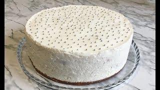 Новый Торт Вишневая Нежность Очень Вкусный и Красивый Новогодний Торт Cake Cherry Tenderness