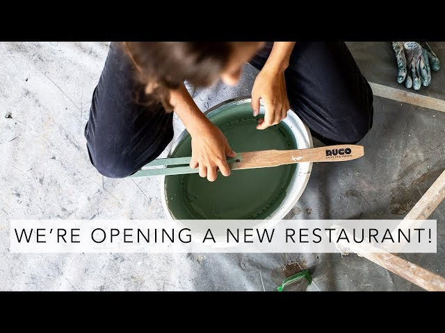 RESTAURANT RENOVATION PART 1 | Vlog | Sofia Clara